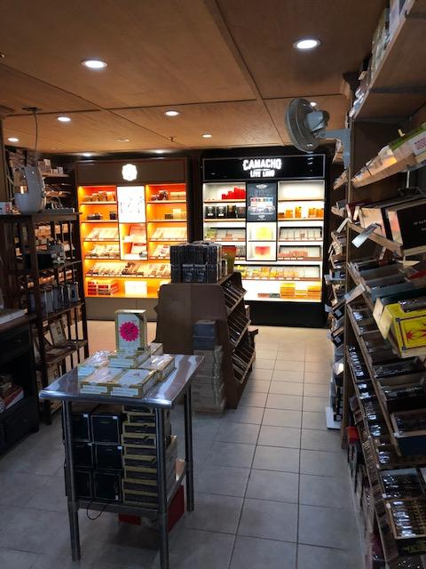 Queensbury Cigar & Pipe walk-in humidor